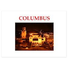 columbus Invitations