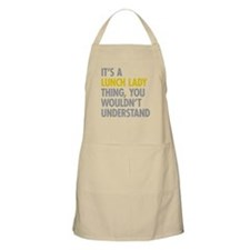 Lunch Lady Thing Apron