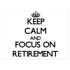 Keep Calm and focus on Retirement Invitations
