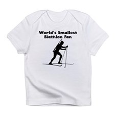 Worlds Smallest Biathlon Fan Infant T-Shirt