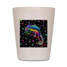 Chameleon Fantasy Rainbow Shot Glass
