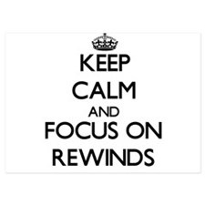 Keep Calm and focus on Rewinds Invitations