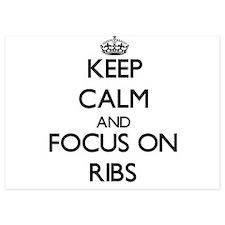 Keep Calm and focus on Ribs Invitations