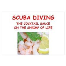 SCUBA Invitations