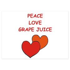 grape juice Invitations