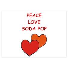 soda pop Invitations