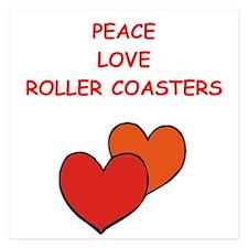 roller coaster Invitations