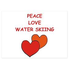 water skiing Invitations