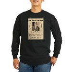 Judge Roy Bean Long Sleeve Dark T-Shirt