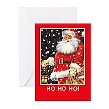 Santa Claus Vintage Greeting Cards (Pk of 20)