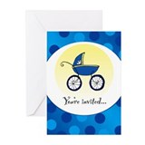 Boy Baby Shower Invitations (Pk of 10)