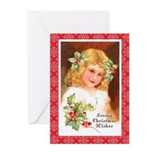 Loving Christmas Wishes Greeting Cards (Pk of 20)