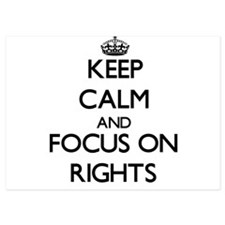 Keep Calm and focus on Rights Invitations