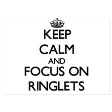 Keep Calm and focus on Ringlets Invitations
