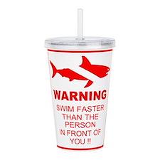 shark warning back copy.png Acrylic Double-wall Tu