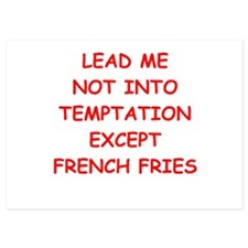 french fries Invitations