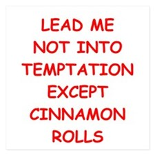 cinnamon rolls Invitations