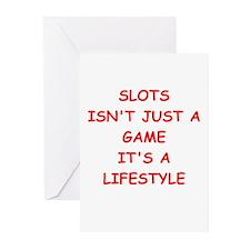 slots Greeting Cards (Pk of 20)