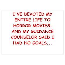 horror movies Invitations