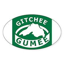 Gitchee Gumee Decal