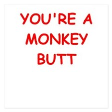 monkey butt Invitations