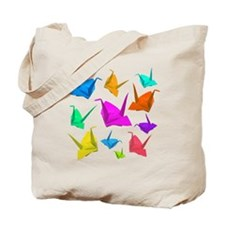 ColorfulCranes camara Tote Bag