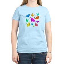 ColorfulCranes camara T-Shirt
