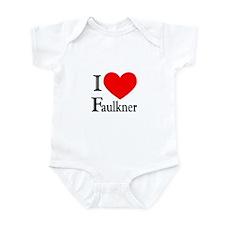 I Love Faulkner Infant Bodysuit