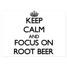 Keep Calm and focus on Root Beer Invitations