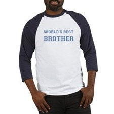 World's Best Brother Baseball Jersey