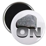 "Rock On 2.25"" Magnet (100 pack)"