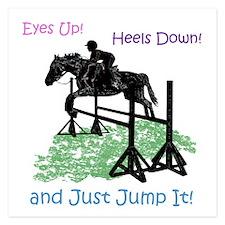 Fun Hunter/Jumper Equestrian Horse Invitations
