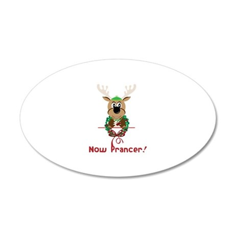 Now Prancer Wall Decal
