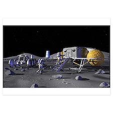 moon base Invitations