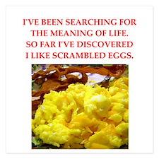 scrambled eggs Invitations