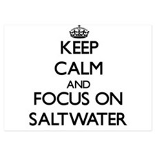 Keep Calm and focus on Saltwater Invitations