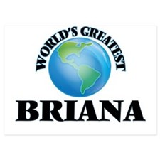 World's Greatest Briana Invitations