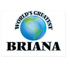 World's Greatest Briana Invitations