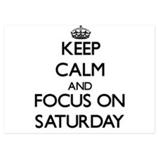 Keep Calm and focus on Saturday Invitations