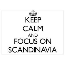 Keep Calm and focus on Scandinavia Invitations