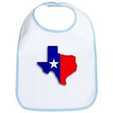 State Of Texas Shape Bib