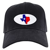 State Of Texas Shape Baseball Cap