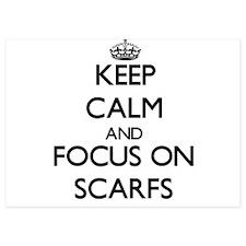 Keep Calm and focus on Scarfs Invitations