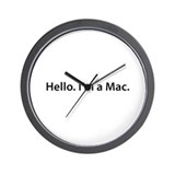 Hello. I'm a Mac Wall Clock