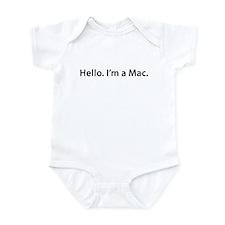 Hello. I'm a Mac Onesie