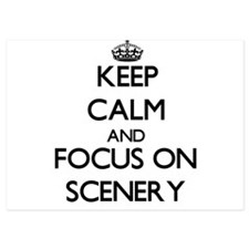 Keep Calm and focus on Scenery Invitations