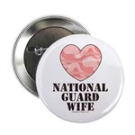 National Guard Wife Camo Heart 2.25