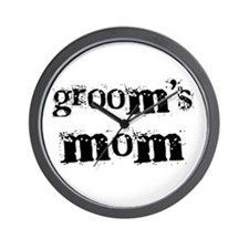 Groom's Mom Wall Clock