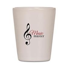 Music Master Shot Glass