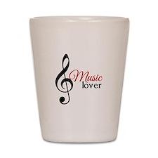 Music Lover Shot Glass